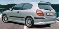 Rieger tuning Spoiler pod zadní nárazník Nissan Almera N16  r.v. -10.02