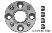 HR podložky pod kola (1pár) NISSAN Serena C23 rozteč 114,3mm 5 otvorů stř.náboj 66,2mm -šířka 1podložky 25mm /sada obsahuje montážní materiál (šrouby, matice)
