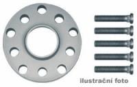 HR podložky pod kola (1pár) NISSAN 100 NX rozteč 100mm 4 otvory stř.náboj 59,1mm -šířka 1podložky 5mm /sada obsahuje montážní materiál (šrouby, matice)