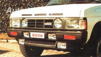 LESTER přední spoiler se světlomety Nissan King Cab -- do roku výroby -98