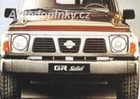 LESTER přední nárazník se světlomety Nissan Patrol Safari od roku výroby 89- (BF46134XX)
